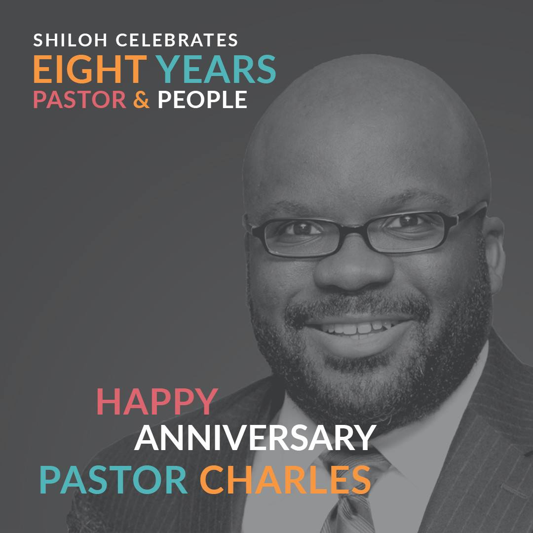 Celebrating 8 Years as Pastor and People