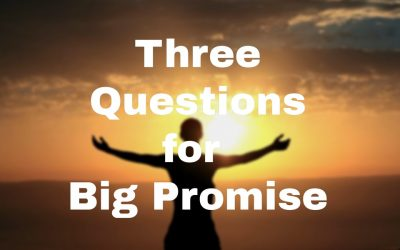 Three Big Questions for a Big Promise
