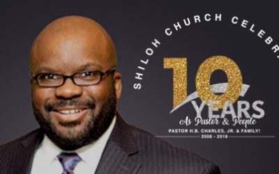 Celebrating 10 Years as Pastor and People